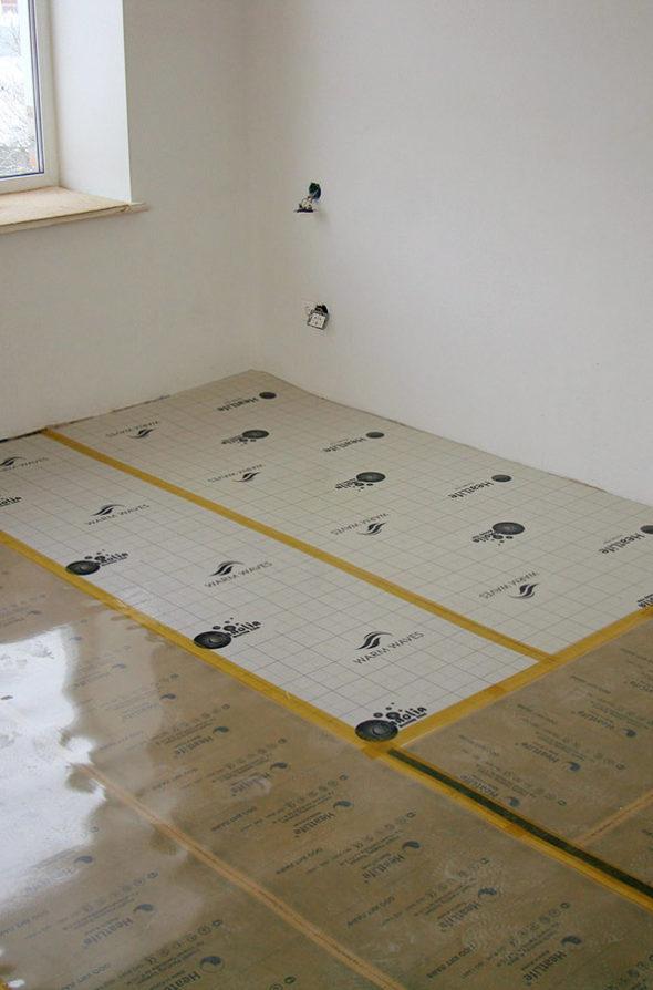 Теплотражающая Подложка heatlife в квартире