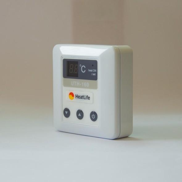 терморегулятор uth-160 сбоку